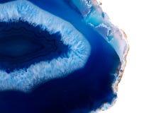 Okrzesany multicolor agata plasterek Fotografia Royalty Free