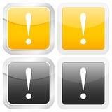 okrzyka ikony oceny kwadrat ilustracja wektor