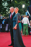 Oksana Akinshina at Moscow Film Festival Royalty Free Stock Images