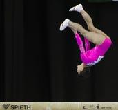 Oksana Chusovitina. Germany's Oksana Chusovitina during a qualifying competition for the 2012 Olympic games in London England Stock Photo