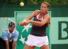 Oksana Kalashnikova (GEO) at Roland Garros 2011 Stock Images