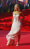Oksana Kutuzova at Moscow Film Festival Royalty Free Stock Photos