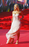 Oksana Kutuzova at Moscow Film Festival Royalty Free Stock Photography