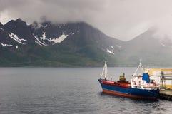 Oksfjord, Noorwegen Stock Afbeeldingen