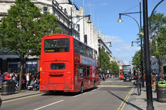 Oksfordzka ulica Obrazy Royalty Free