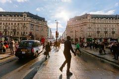 Oksfordzka ulica, Londyn, 13 05 2014 Zdjęcia Stock
