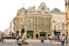 Oksfordzki centrum miasta Obrazy Royalty Free