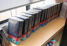 Oksfordzki słownik Fotografia Royalty Free
