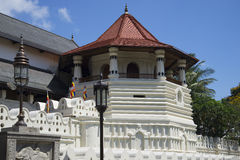 The Oktagon - the tower of the Royal Palace. Sri Lanka Royalty Free Stock Photography