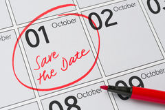 Oktober 1 Royaltyfria Foton