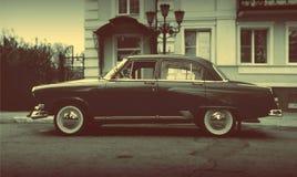 Oktober, 10, 2017 Arzamas, russisches altes Auto Lizenzfreies Stockfoto