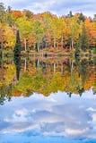 Oktober-Bezinningen Royalty-vrije Stock Foto's