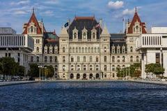 OKTOBER 16, 2016, byggnader för Albany, New York statKapitolium och regeringi Oktober Arkivfoton