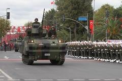 29 Oktober-de Dagviering van de Republiek van Turkije Royalty-vrije Stock Foto's