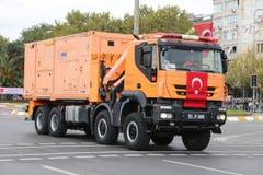 29 Oktober-de Dagviering van de Republiek van Turkije Stock Foto