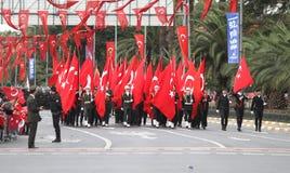 29 Oktober-de Dagviering van de Republiek van Turkije Royalty-vrije Stock Fotografie