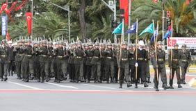 29 Oktober-de Dagviering van de Republiek van Turkije Stock Foto's