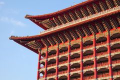 2012, 25 oktober, - de stad van Taipeh, Taiwan: De grote Hotel buitenmening Stock Afbeeldingen