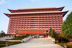 2012, 25 oktober, - de stad van Taipeh, Taiwan: De grote Hotel buitenmening Stock Foto's