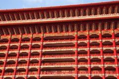 2012, 25 oktober, - de stad van Taipeh, Taiwan: De grote Hotel buitenmening Royalty-vrije Stock Fotografie