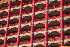 2012, 25 oktober, - de stad van Taipeh, Taiwan: De grote Hotel buitenmening Royalty-vrije Stock Afbeeldingen