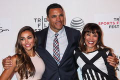 Oktober Gonzalez, Tony Gonzalez, en Judy Gonzalez Royalty-vrije Stock Foto