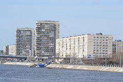 Oktober invallning i St Petersburg Arkivbild