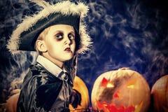 Oktober-jongen Stock Fotografie