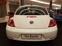 1. Oktober 2016 Kuala Lumpur Volkswagen-Autoanzeige am Einkaufskomplex des Gipfel-USJ, Malaysia Lizenzfreie Stockbilder