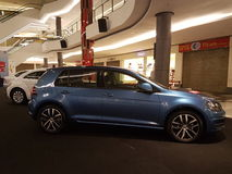1. Oktober 2016 Kuala Lumpur Volkswagen-Autoanzeige am Einkaufskomplex des Gipfel-USJ, Malaysia Stockfotografie