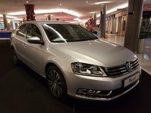 1. Oktober 2016 Kuala Lumpur Volkswagen-Autoanzeige am Einkaufskomplex des Gipfel-USJ, Malaysia Stockfotos