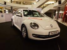 1. Oktober 2016 Kuala Lumpur Volkswagen-Autoanzeige am Einkaufskomplex des Gipfel-USJ, Malaysia Lizenzfreies Stockfoto