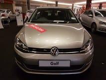 1 Oktober 2016, Kuala Lumpur Volkswagen-autovertoning bij Top USJ Complex Winkelen, Maleisië Royalty-vrije Stock Foto