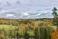 Oktober no parque natural de Adamovas fotografia de stock royalty free