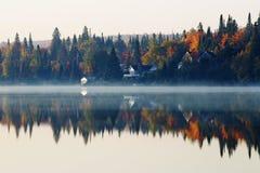 Oktober-Ochtend Stock Foto