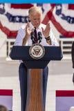 13 OKTOBER, 2016: Ondervoorzitter Joe Biden campagnes voor Nevada Democratic-U S Senaatskandidaat Catherine Cortez Masto en presi Royalty-vrije Stock Foto