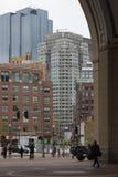 24 oktober, 2014 - Rowes-Werf, Boston Massachusetts, Stock Afbeeldingen