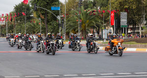 29. Oktober Tag der Republik-Feier von der Türkei Stockbilder