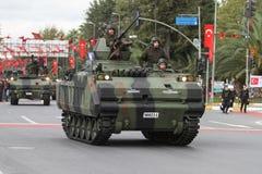 29. Oktober Tag der Republik-Feier von der Türkei Lizenzfreies Stockfoto