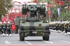 29. Oktober Tag der Republik-Feier von der Türkei Stockfotografie
