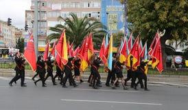29. Oktober Tag der Republik-Feier von der Türkei Lizenzfreie Stockfotografie