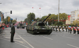 29. Oktober Tag der Republik-Feier von der Türkei Stockbild