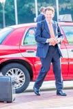 2. Oktober 2014: Washington, DC - Leute, die durch Verband reisen Lizenzfreies Stockbild