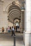 2 oktober, 2014: Washington, gelijkstroom - mensen die door Unie reizen Stock Fotografie