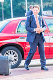2 oktober, 2014: Washington, gelijkstroom - mensen die door Unie reizen Royalty-vrije Stock Afbeelding
