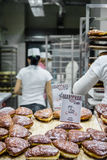22 Oktober 2016 Wroclaw, Polen De gebakjes stelden voor verkoop a op Stock Fotografie