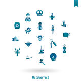 Oktoberfest啤酒节日 库存图片