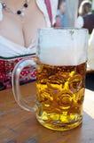 Oktoberfest öl arkivfoton