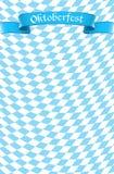 Oktoberfest świętowania projekta tło Obrazy Royalty Free