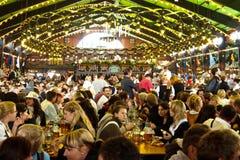 Oktoberfest 2010 in München Stockbild